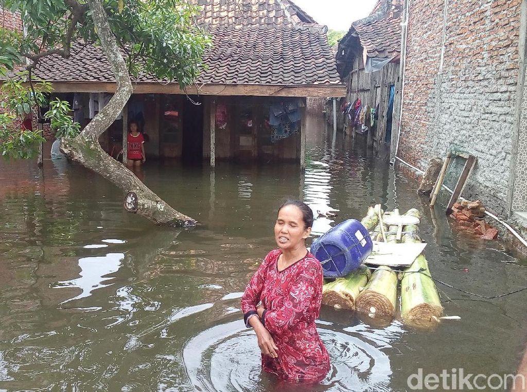 3 Bulan Terendam Banjir, Warga di Demak Kekurangan Stok Makanan