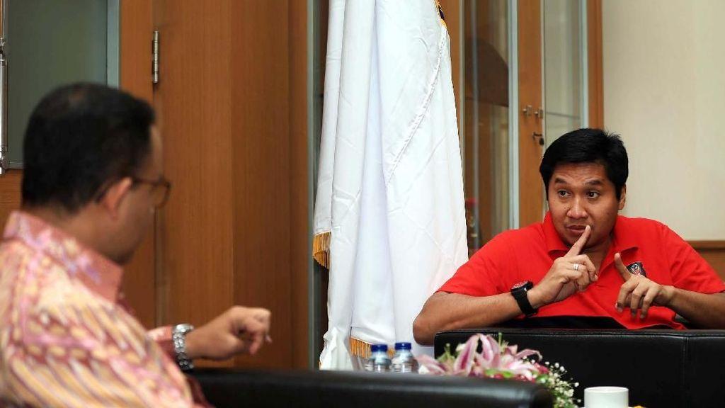 Maruarar Minta Maaf soal Anies Dicegah ke Podium Piala Presiden