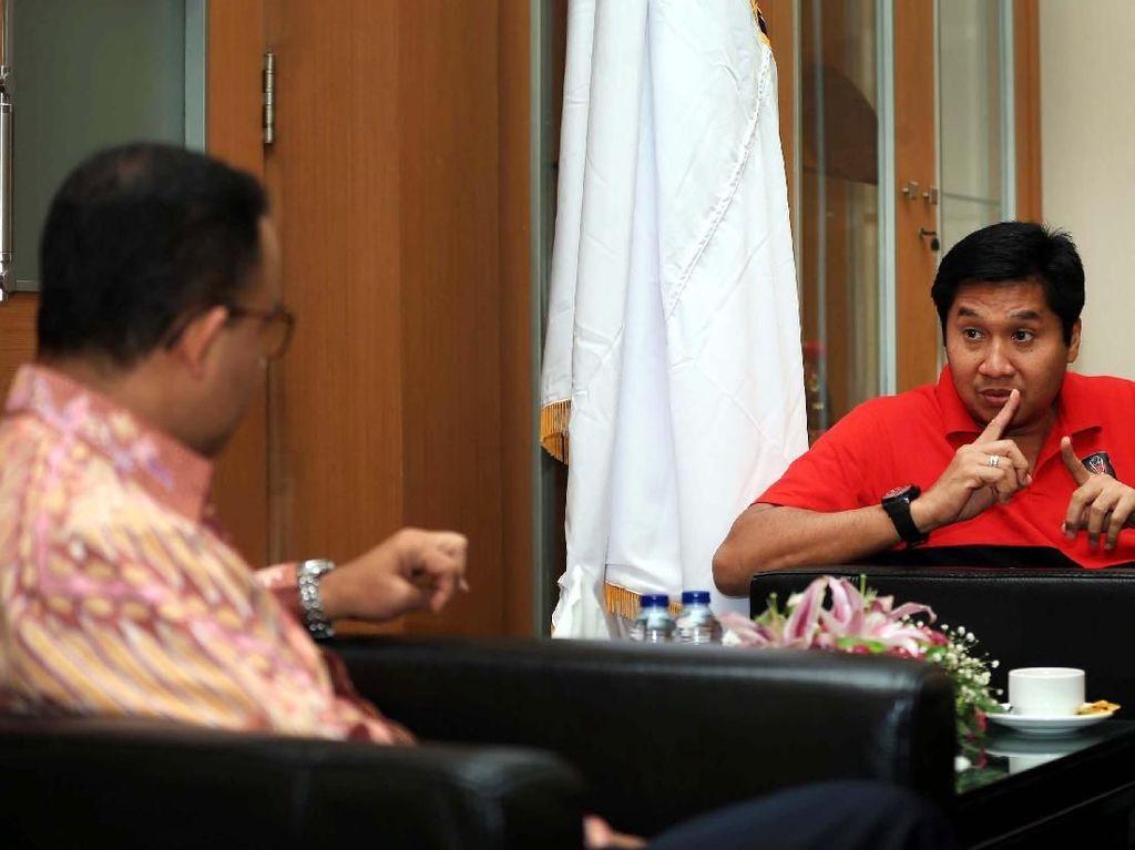 Dukungan Gubernur Anies di Final Piala Presiden 2018