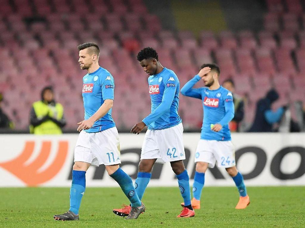 Masih Ada Scudetto untuk Diperjuangkan, Napoli Segera Move On dari Liga Europa