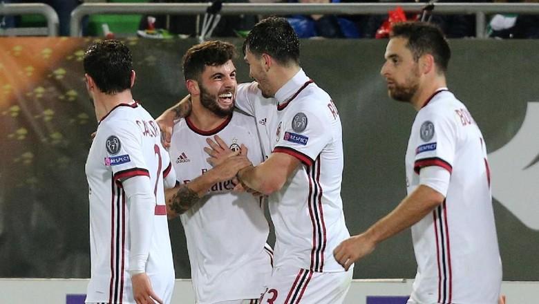 Milan Lumat Ludogorets 3-0