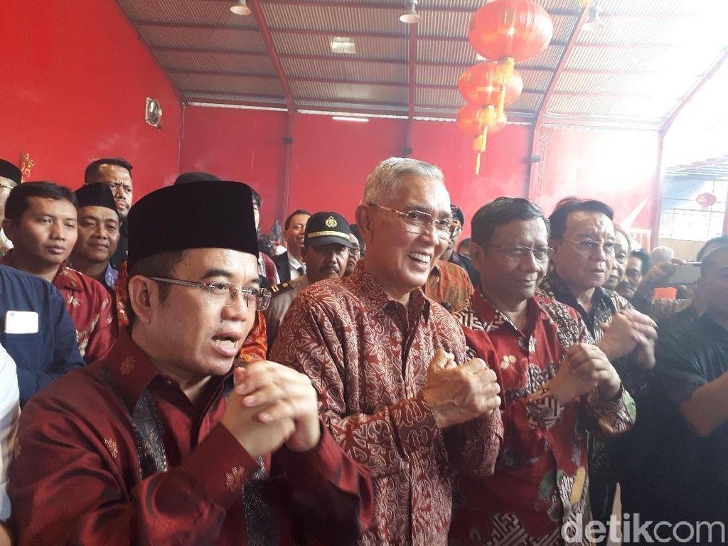 Ikut Rayakan Imlek, UKP Pancasila Bicara Keberagaman Indonesia