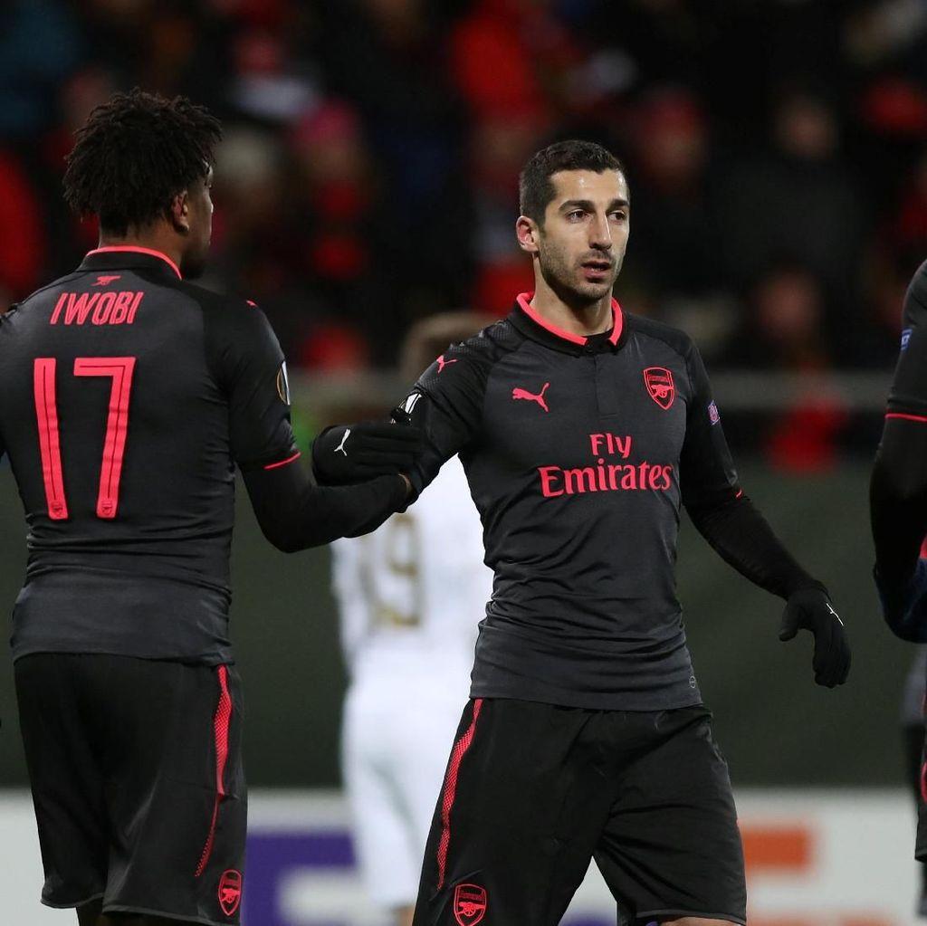 Arsenal Tetap Incar Kemenangan di Leg Kedua
