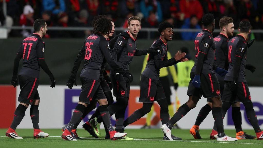 Arsenal Masih Ingin Lolos ke Liga Champions dari Premier League