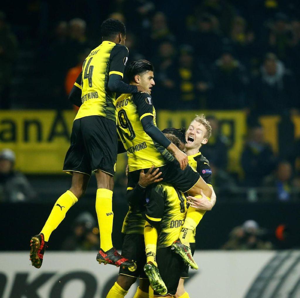 Sengit dan Dramatis, Dortmund Kalahkan Atalanta 3-2