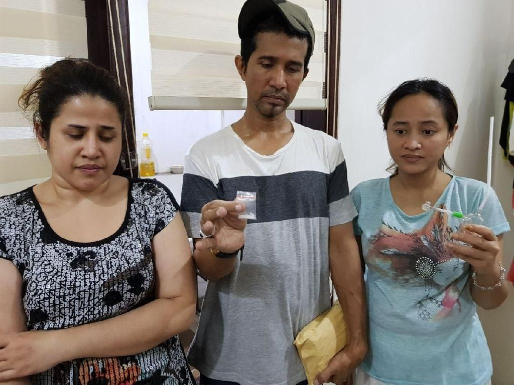 Tampang Anak Elvy Sukaesih-Menantu yang Ditangkap Saat Pesta Sabu