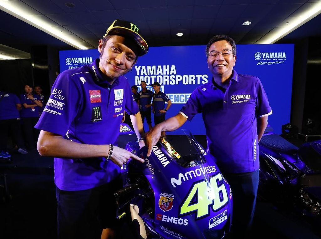 Rossi Terus Bekerja agar Yamaha Kompetitif Sejak Balapan Pertama