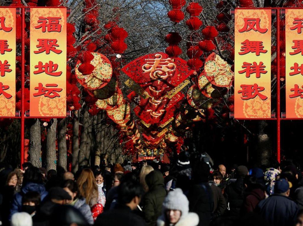 3 Juta Orang Mudik ke China Jelang Imlek