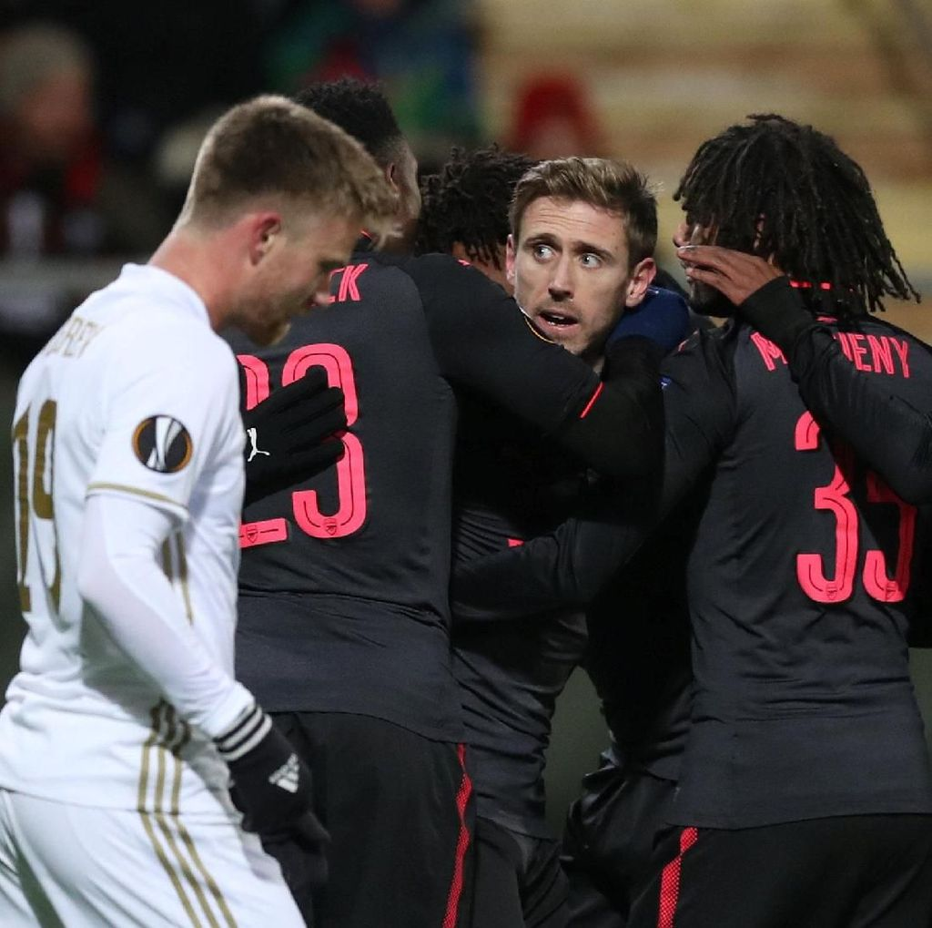 Arsenal Gebuk Ostersunds 3-0