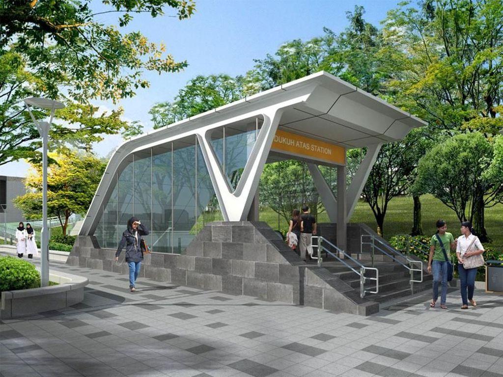 5 Kawasan Stasiun MRT Mau Dibuat Keren, Ini Konsepnya