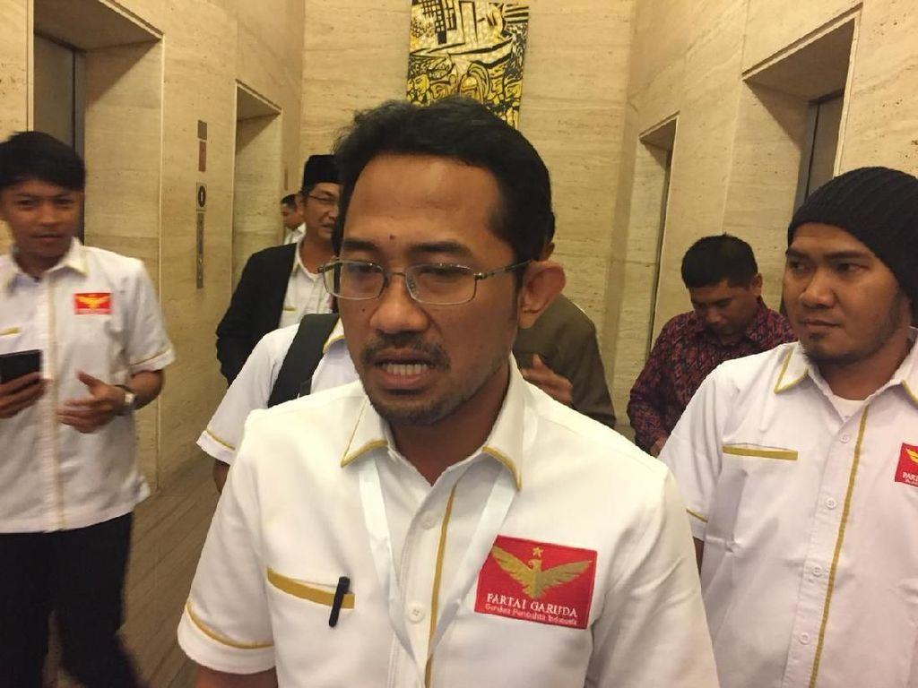 Tak Lolos ke DPR Versi Survei RTK, Partai Garuda: Jadi Bahan Evaluasi