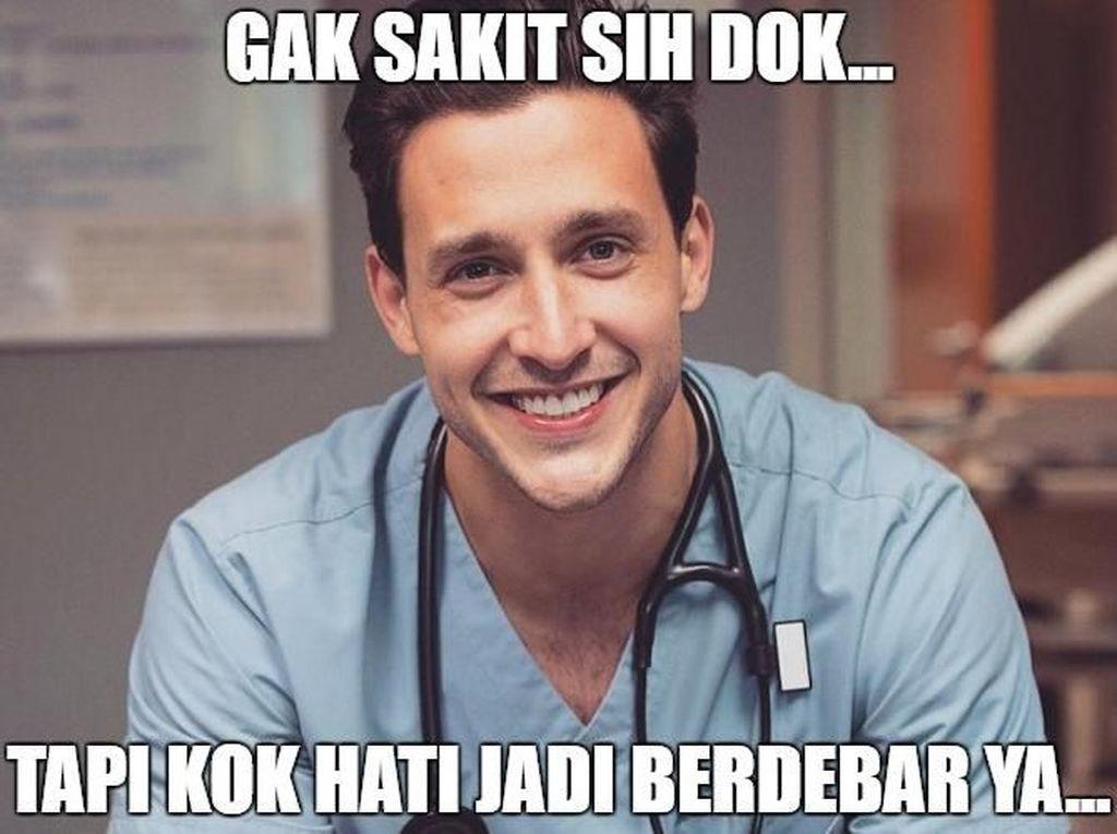 Meme Dokter Cantik dan Tampan yang Bikin Kamu Cepat Sembuh