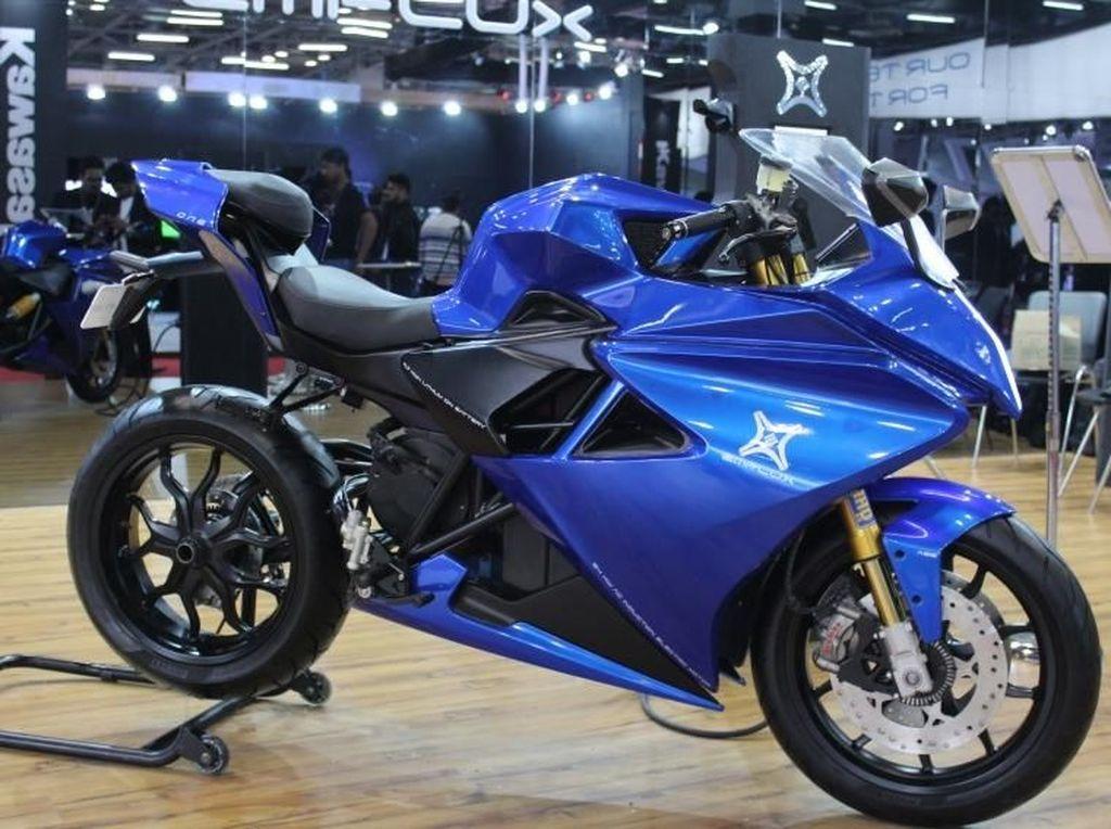 Startup India Bikin Superbike Listrik