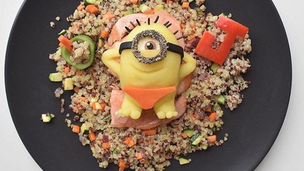 Keren! Superfood Ditampilkan Dalam Bentuk Spongebob hingga Minion 