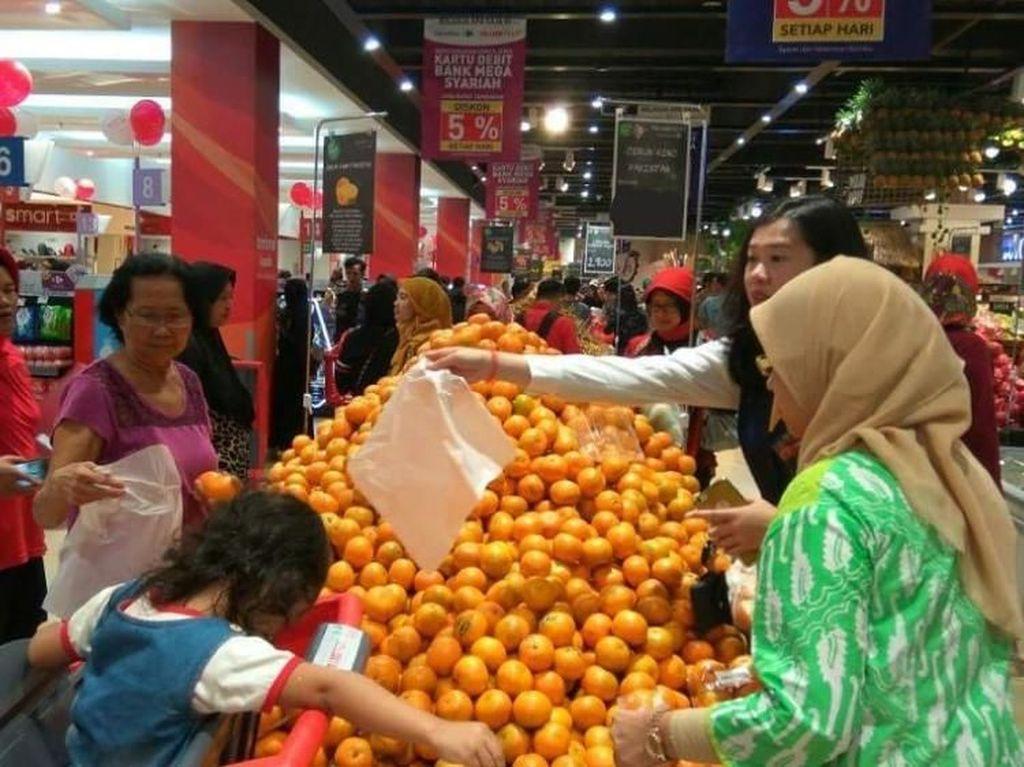 Promo Dahsyat Jeruk Mandarin di Transmart Carrefour
