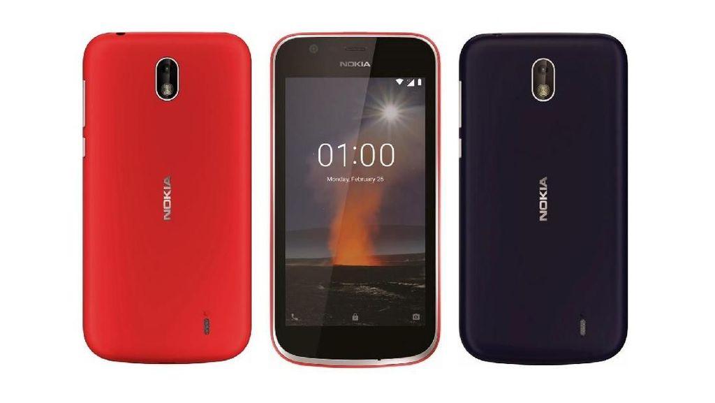 Menanti Ponsel Android Murah Nokia 1