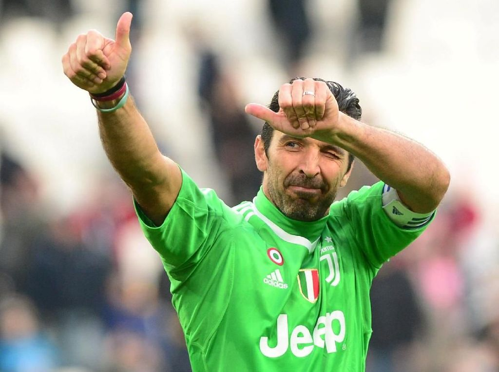 Del Piero: Pensiun, Buffon Layak Dapat Penghormatan Besar