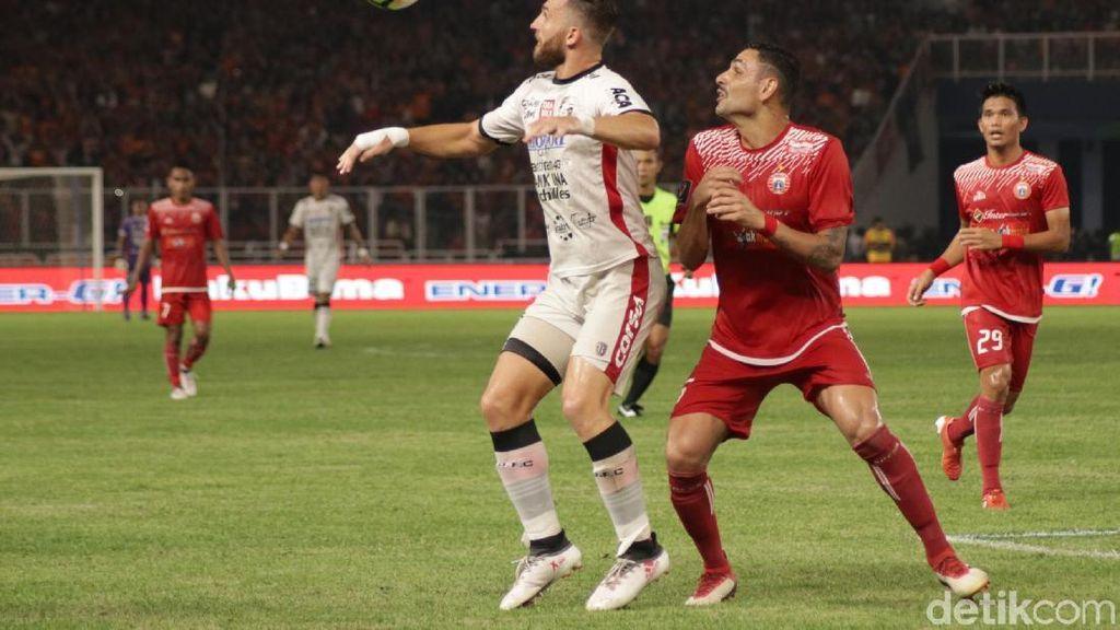 Bali United Kalah dari Persija karena Tak Mampu Keluar dari Tekanan