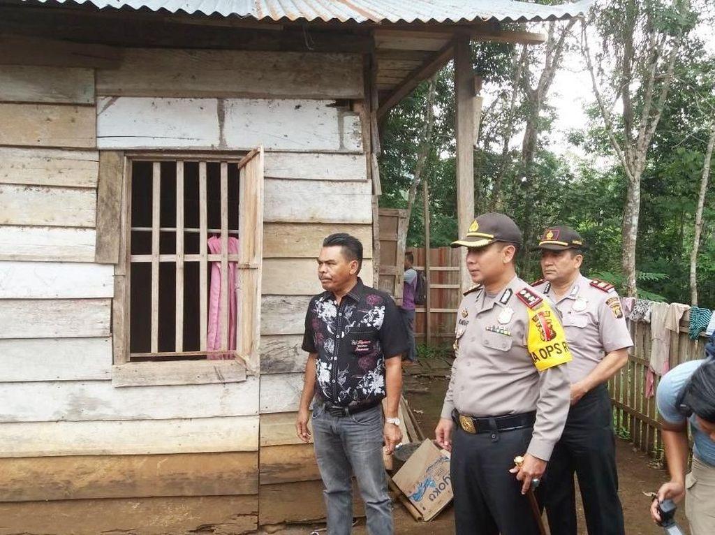 Foto: Rumah Tempat Rahma Bocah Tangguh Urus Sendiri Ibu yang Lumpuh