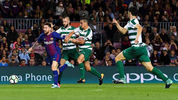 Barcelona ingin fokus pada Eibar dulu, baru memikirkan Chelsea. (Foto: David Ramos/Getty Images)