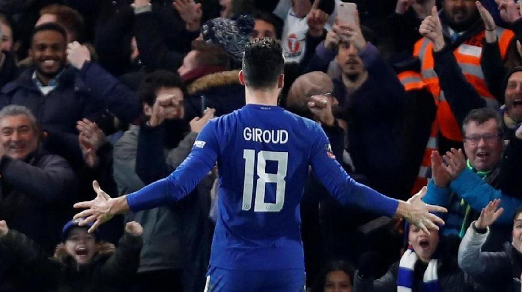 Giroud: Striker Chelsea itu Saya dan Morata, bukan Hazard