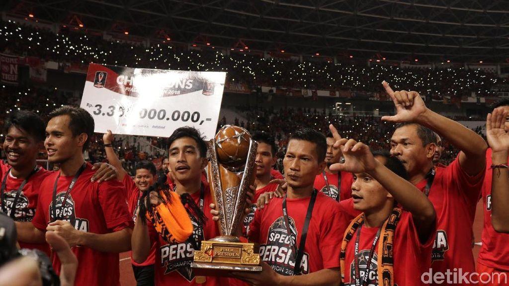 Usai Menangi Piala Presiden, Persija Kini Fokus ke Piala AFC