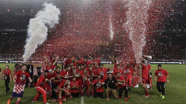 Persija dalam kondisi kepercayaan diri yang tinggi usai jadi juara Piala Presiden.