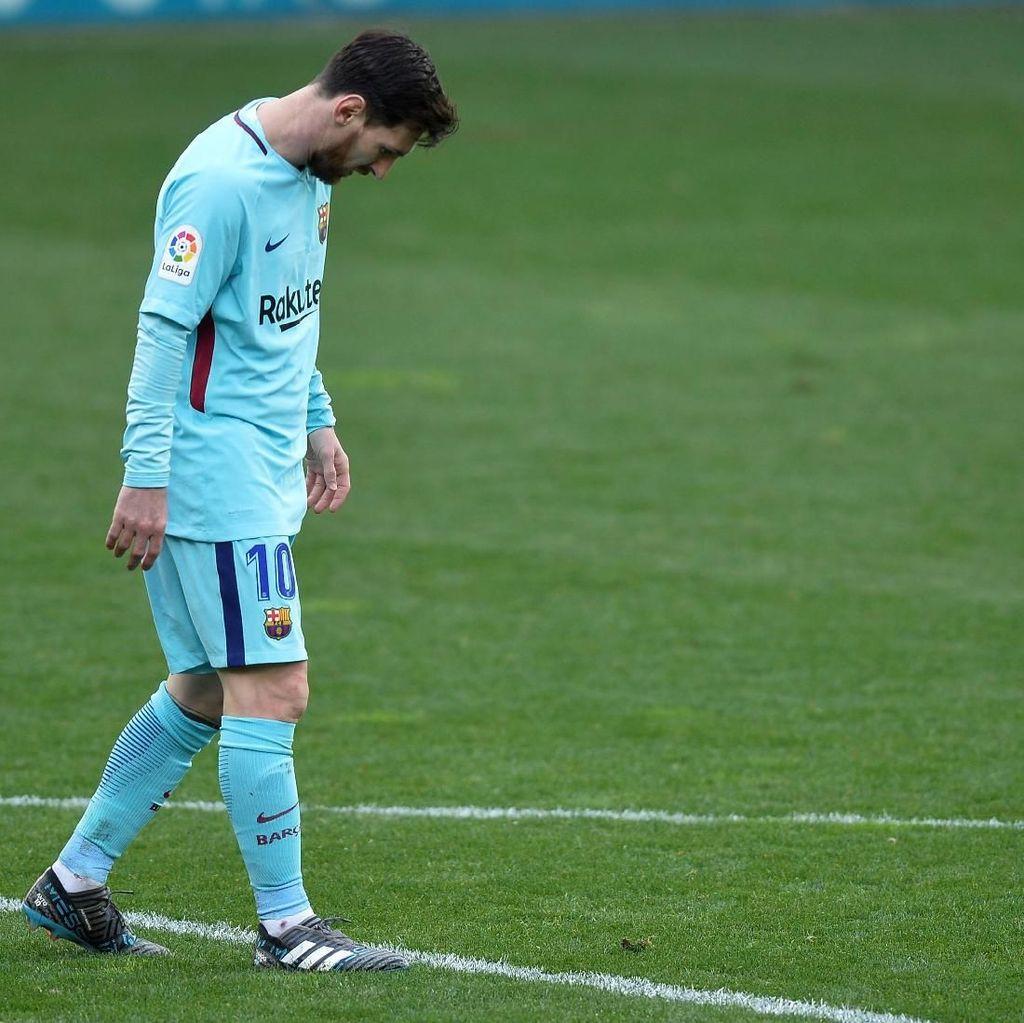 Tiang Gawang Musuh Utama Messi Musim Ini