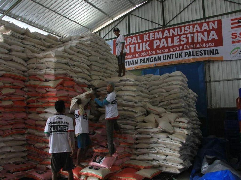 ACT Targetkan Kirim 10.000 Ton Logistik Pangan ke Gaza Selama Ramadan