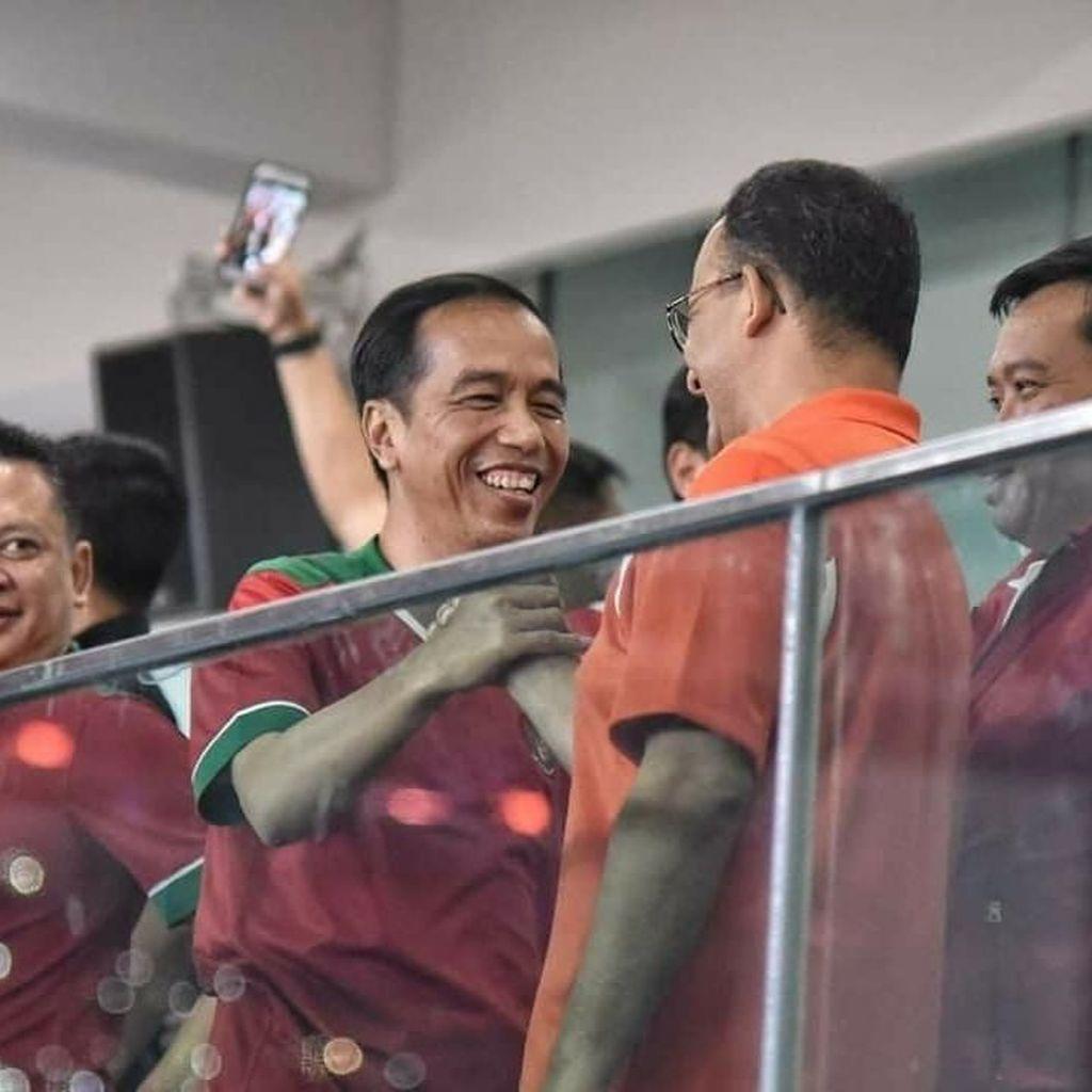 Persija Menang 3-0, Gubernur Anies: Tiap Gol Pak Jokowi Beri Ucapan Selamat