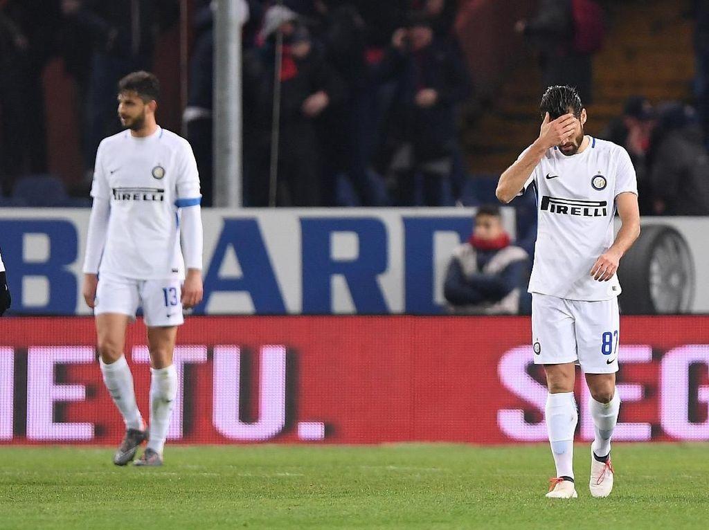 Sialnya Andrea Ranocchia (dan Inter Milan)