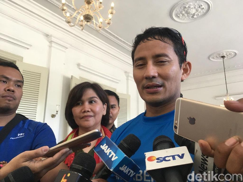 Anies Dicegah Paspampres ke Podium Piala Presiden, Ini Kata Sandiaga