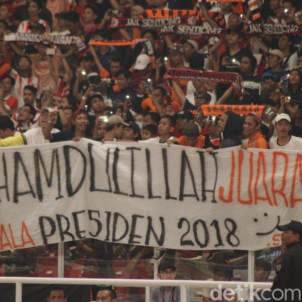 Panitia Piala Presiden Raup Rp 20 M dari Penjualan Tiket