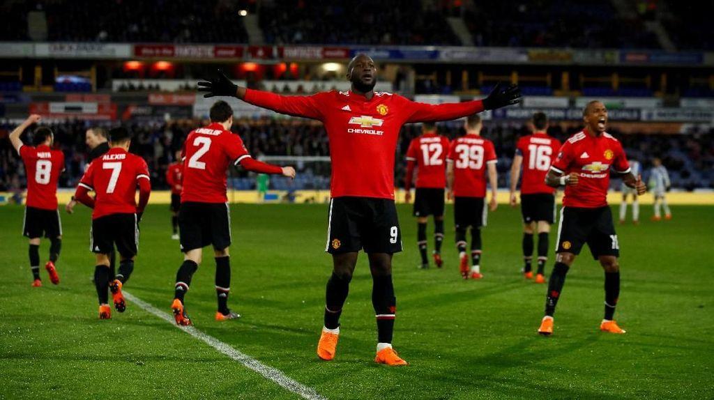 Foto: Setan Merah Maju ke Perempatfinal Piala FA