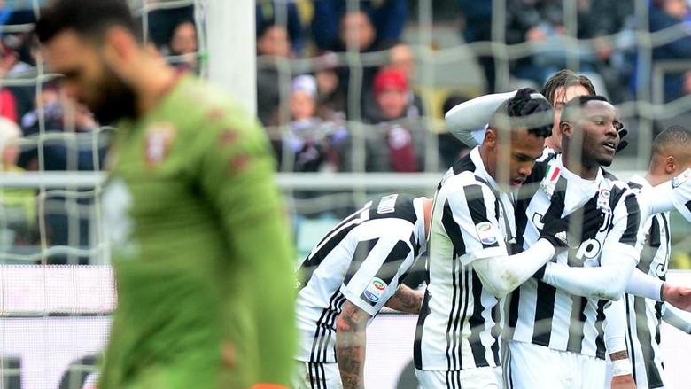 Atasi Torino, Juventus Sementara ke Puncak Klasemen