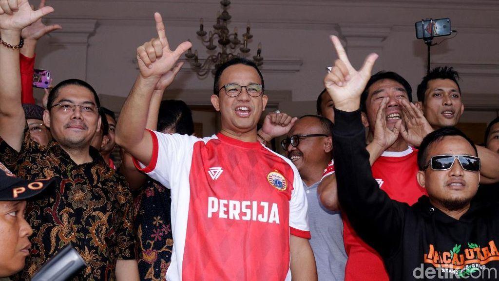 Balai Kota Sambut Sang Juara Piala Presiden