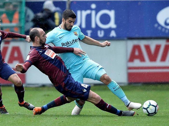 Barcelona akan menghadapi Eibar dalam lanjutan Liga Spanyol pekan ini. (Foto: Vincent West/REUTERS)