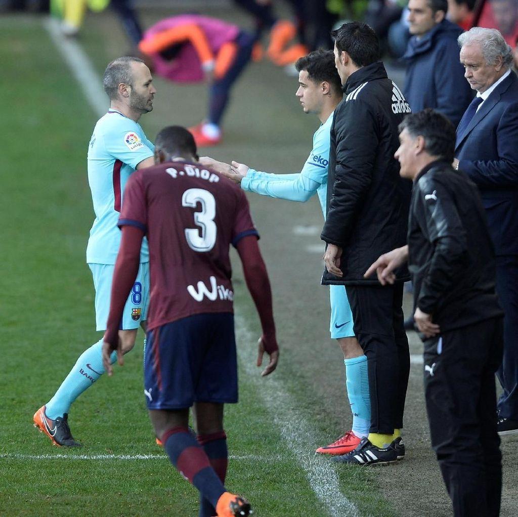 Coutinho Tak Jadi Starter Saat Lawan Eibar, Ini Penjelasan Valverde