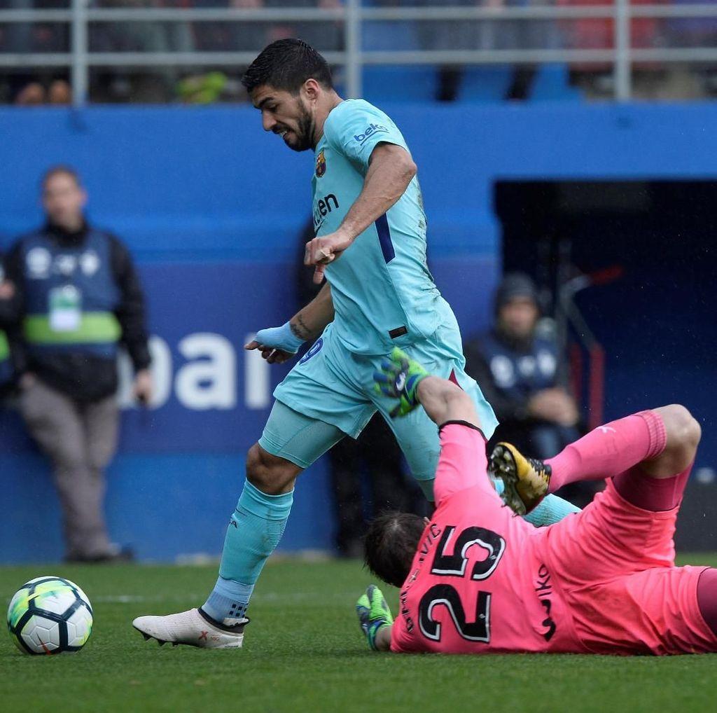 Barcelona Tekuk Eibar 2-0