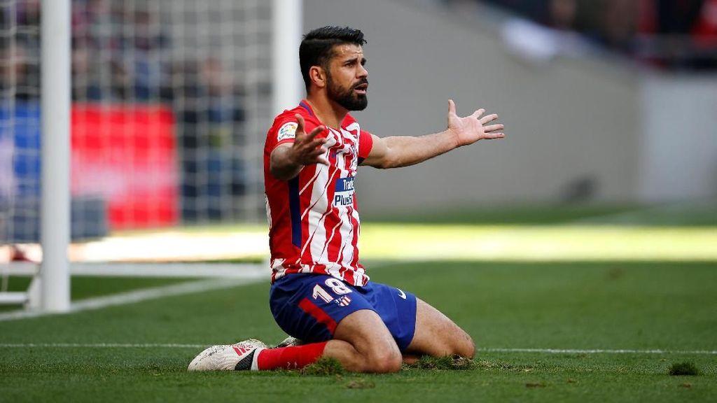 Kesalnya Diego Costa pada Wasit