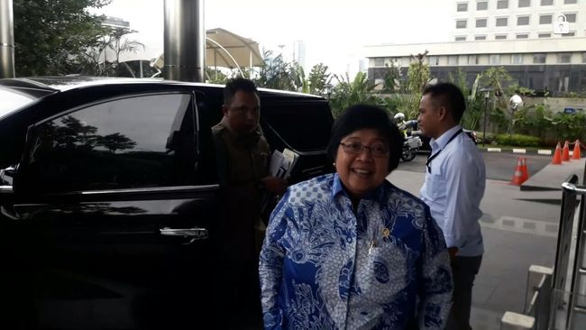 Sambangi KPK, Menteri Siti Bahas DL Sitorus dan Perizinan Kawasan
