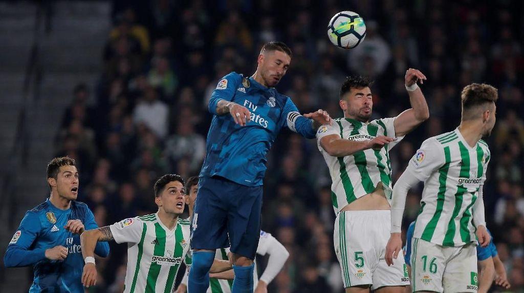 Madrid Menangi Drama 8 Gol Lawan Betis