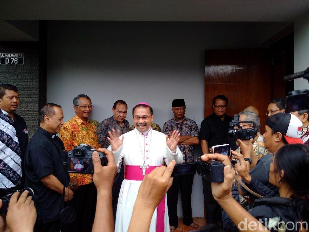 Maafkan Penyerang Gereja, Uskup Agung Semarang: Doakan Kesehatannya