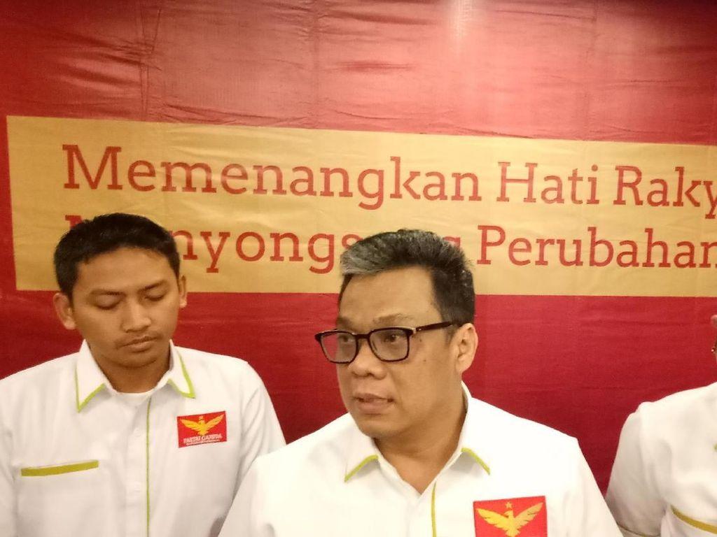 Partai Garuda Laporkan KPU ke Bawaslu Gegara Kursi Duduk di Debat Capres
