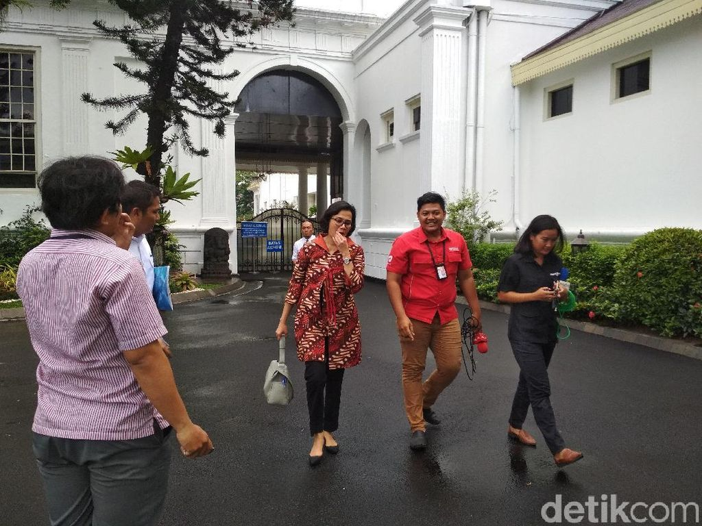 Usai Rapat Bareng Jokowi, Sri Mulyani Cs Kompak Tutup Mulut