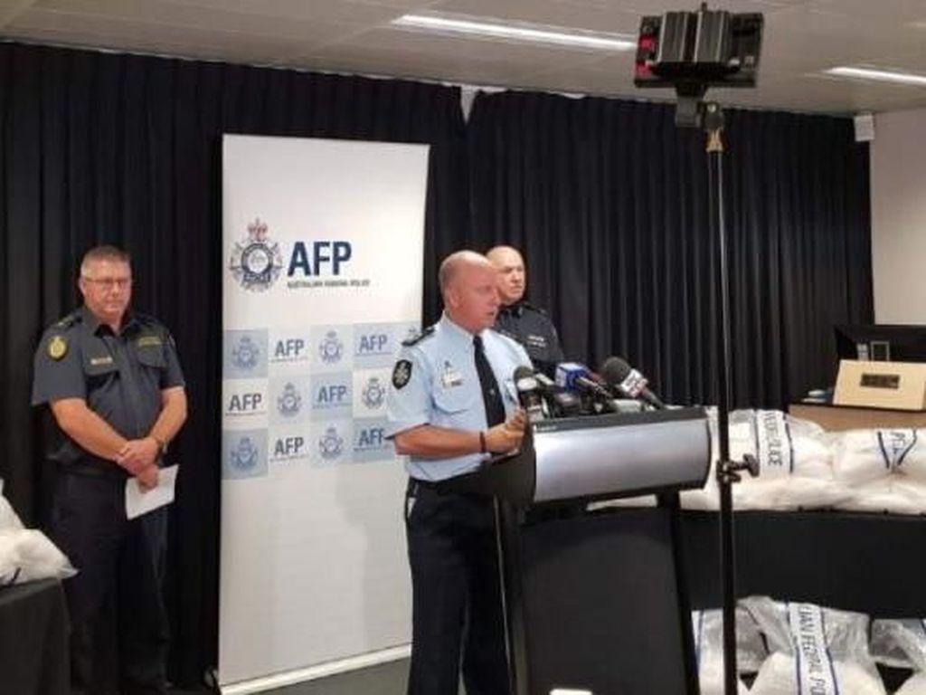 Polisi Australia Gagalkan Pengiriman 313 Kg Sabu ke Adelaide