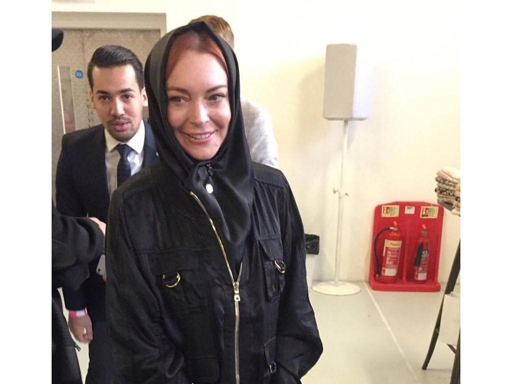 Rumor Mohammad bin Salman Akrab dengan Lindsay Lohan