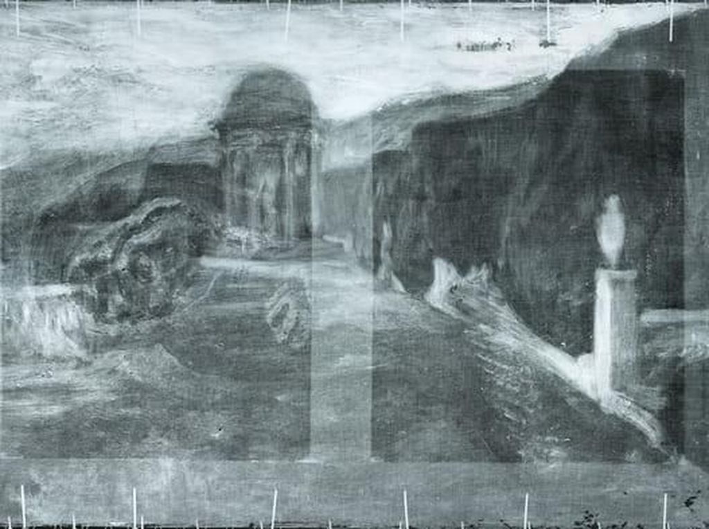 Di Balik Lukisan Picasso Ada Pemandangan Kota Barcelona