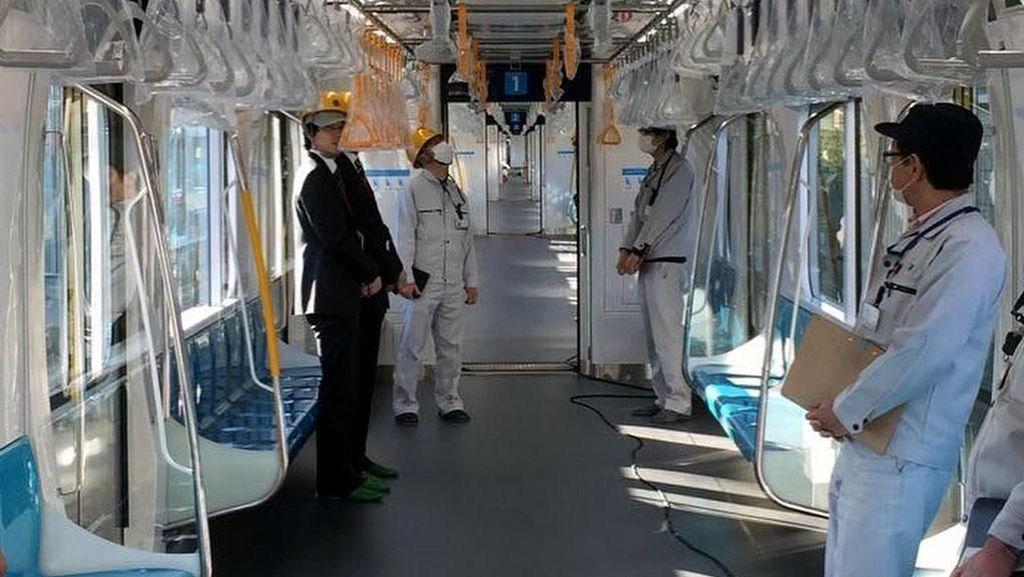 Dibuat di Jepang, Begini Daleman Kereta MRT Jakarta