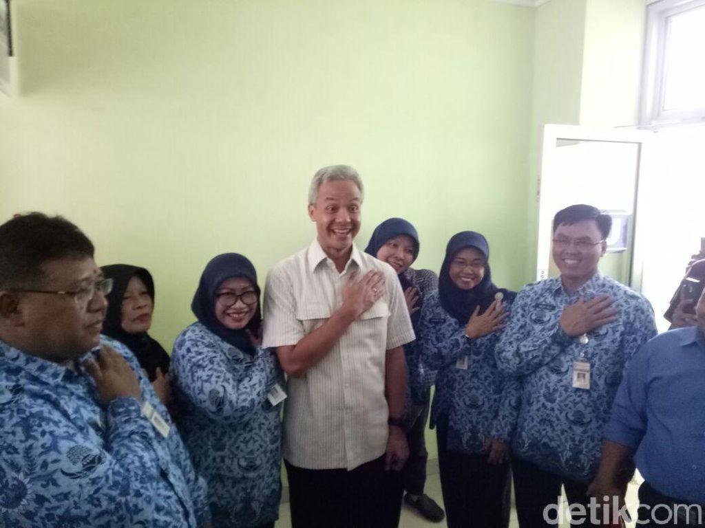 Foto Bersama Cagub Ganjar, 6 ASN RSUD Jepara Dipanggil Panwaslu
